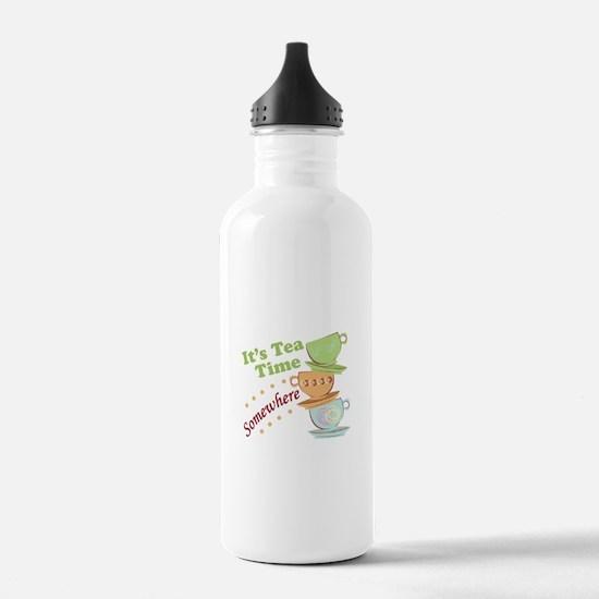 It's Tea Time Water Bottle
