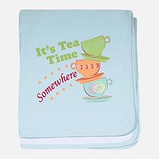 It's Tea Time baby blanket