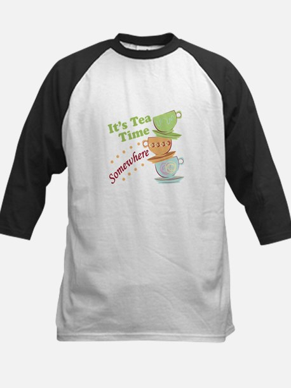 It's Tea Time Baseball Jersey