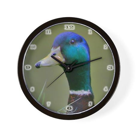 Mallard Drake Wall Clock