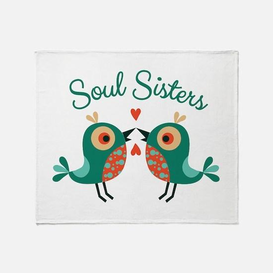 Soul Sisters Throw Blanket