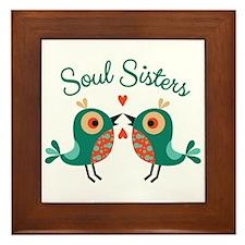 Soul Sisters Framed Tile