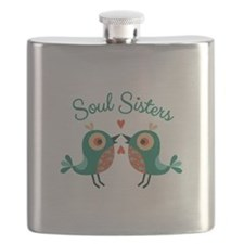 Soul Sisters Flask