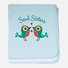 Soul Sisters baby blanket