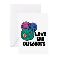 Love The Outdoors Greeting Cards