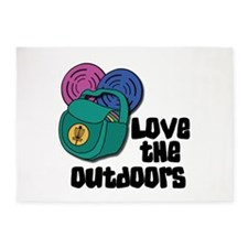 Love The Outdoors 5'x7'Area Rug