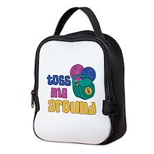 Toss Me Around Neoprene Lunch Bag