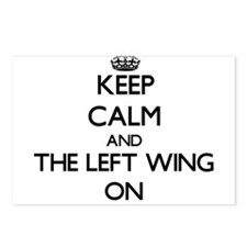 Keep Calm and The Left Wi Postcards (Package of 8)