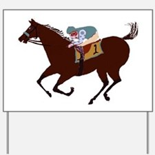 The Racehorse Yard Sign