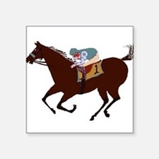 The Racehorse Sticker