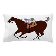 The Racehorse Pillow Case