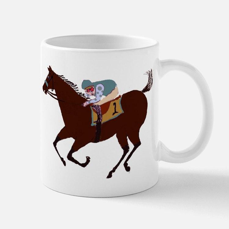 The Racehorse Mugs