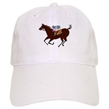 The Racehorse Baseball Baseball Cap