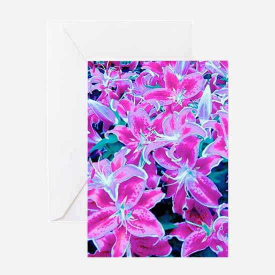Glorious Lilies Greeting Cards