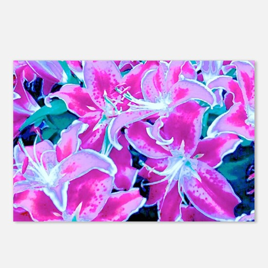 Glorious Lilies Postcards (Package of 8)