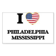 I love Philadelphia Mississippi Decal