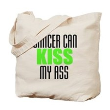 Cancer Can Kiss My Ass Tote Bag