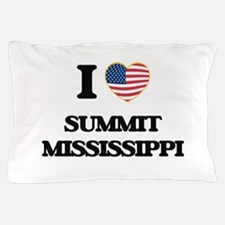 I love Summit Mississippi Pillow Case