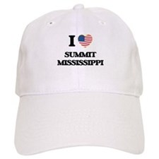 I love Summit Mississippi Baseball Cap