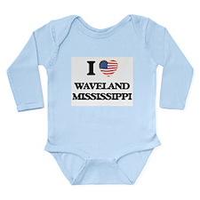 I love Waveland Mississippi Body Suit
