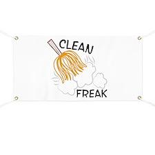 Clean Freak Banner