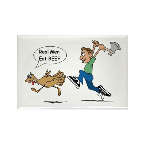 Funny Thanksgiving Rectangle Magnet (10 pack)