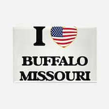 I love Buffalo Missouri Magnets
