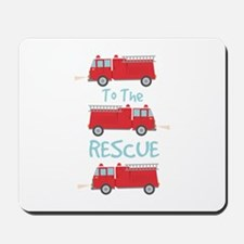 To The Rescue Mousepad