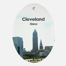 Cleveland Ornament (Oval)