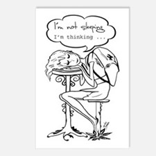 """""""I'm not sleeping..."""" Postcards (Package of 8)"""