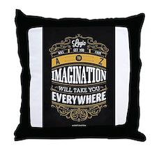 Unique Imagination Throw Pillow