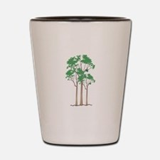 Forest Trees Shot Glass