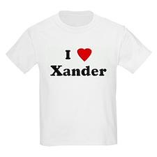 I Love Xander T-Shirt