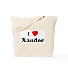 I Love Xander Tote Bag
