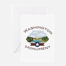 Washington Monument Washington Monument Greeting C