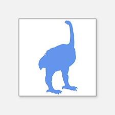 Euryapteryx Silhouette (Blue) Sticker