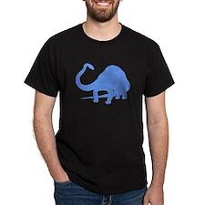 Diplodocus Silhouette (Blue) T-Shirt
