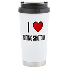 Unique I love Travel Mug