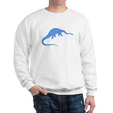 Diplodocus Silhouette (Blue) Sweatshirt