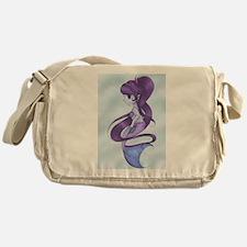 Rainbow Mermaid - Violet Messenger Bag