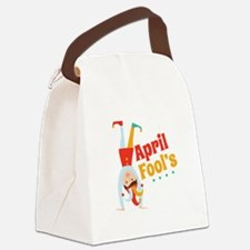 April Fools Canvas Lunch Bag