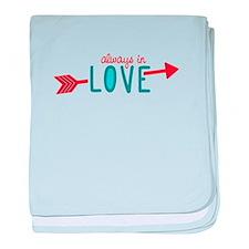 Always In Love baby blanket