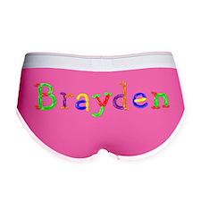 Brayden Balloons Women's Boy Brief