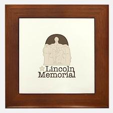Lincoln Memorial Lincoln Memorial Framed Tile