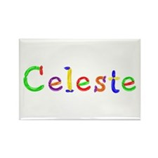 Celeste Balloons Rectangle Magnet