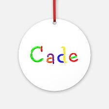 Cade Balloons Round Ornament