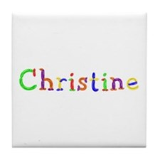 Christine Balloons Tile Coaster
