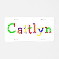 Caitlyn Balloons Aluminum License Plate