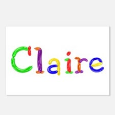 Claire Balloons Postcards 8 Pack