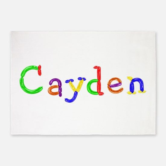 Cayden Balloons 5'x7' Area Rug